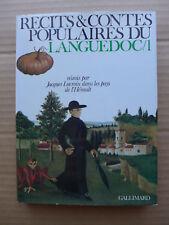 Jacques Lacroix - Récits et contes populaires du Languedoc /1