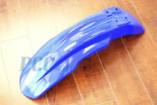 BLUE FRONT FENDER PLASTIC ONLY HONDA CRF150R 2007-2013 DIRT BIKE I PS68S