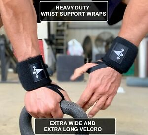 Weight Lifting Wrist Wraps Power Training Gym Workout Support Strap Workout Flex