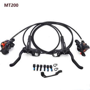 Shimano Deore MT200 Hydraulic Disc Brake Set Front&Rear Original