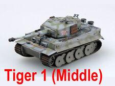 Easy Model 1/72 Germany Tiger 1 (Middle) sPzAbt.101,Normandy 1943 #36216