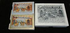 Vintage Double Deck Jacob Schmidt Brewing Co Rathskeller Playing Cards White Box