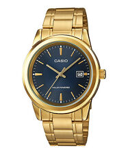 Casio Watch Solar Powered Gold Mens Mtp-vs01g-2a