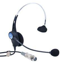 Clear-Com CC26K-X4,Headset with Dynamic Mic, Single Earmuff, 4-pin XLR-F