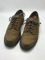 Rockport Waterproof Men's US Size 9W Brown Leather Lace Up Dress Shoes M4119