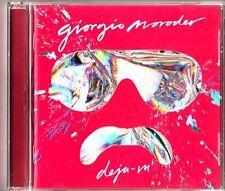 GIORGIO MORODER - Deja Vu CD 2015 Charli xcx/Kylie Minogue/Britany Spears Dance