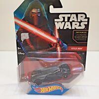 STAR WARS Force Awakens//Last Jedi KYLO REN✰New Loose✰Hot Wheels Character Cars