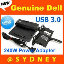 NEW Dell E-Port Simple Port Replicator II Dock for Dell Precision Laptop 240W PA
