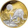 Niue 2019 Australia At Night Nocturnal Red Kangaroo $100 1 Oz Gold Proof
