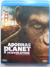 Rise Of The Planet Of The Apes Double Play (Blu-ray DVD, 2012) Nordic Packaging