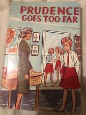 """Vintage book """"Prudence Goes Too Far"""" By Helen Humphries"""