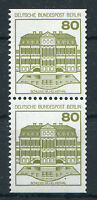 Berlin 674 C + D postfrisch Burgen und Schlösser senkrechtes Paar BuS MNH