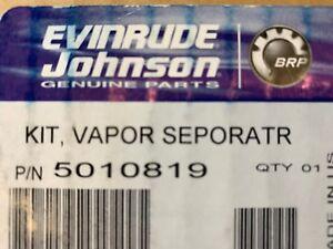 Evinrude Johnson BRP 5010819 Fuel Pump and Vapor Separator Assembly Genuine OEM