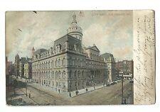 1907 Postcard City Hall Baltimore Md Old Home Week Bosselman New York Germany