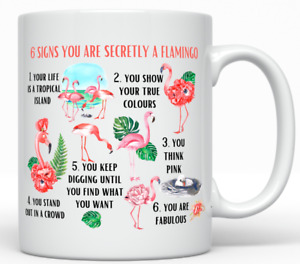 Funny Flamingo Lady - Flamingo Gift For Her - Birthday Flamingo Mug - Funny Mug