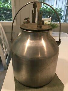 Vintange 6 Gallon Stainless Steel Milk Can
