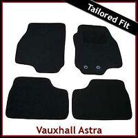 Vauxhall Astra G Convertible 2000-2005 Tailored Carpet Car Floor Mats BLACK