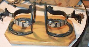 WESTERN RANCH DECOR  NAPKIN HOLDER HORSE SHOES AND SPURS