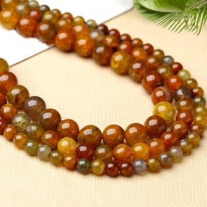dragon agate loose beads dragon scale beaded accessories 6mm