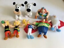 LOT 8 PELUCHES  COLLECTION ASTERIX CHEZ LIDL LES EDITIONS ALBERT RENE