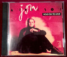 Jon Anderson Hold On To Love (US 1988) Promo CD Bruford Howe Wakeman Dozier YES