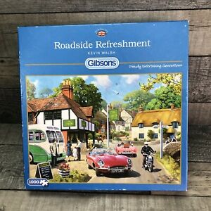 Gibsons 1000 Piece Jigsaw Puzzle Roadside Refreshment by Kevin Walsh