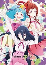 Zombie Land Saga Vol.3 First Limited Edition Blu-ray CD Booklet new