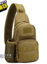 PJ Tactical Sling Chest Pack Bag Molle Daypack Backpack Outdoor Bag