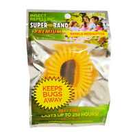 Evergreen Superband Premium Non-Toxic Mosquito Repelling Wristband - Yellow