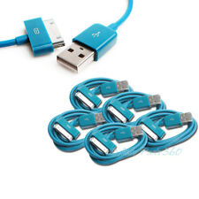 5 3FT USB SYNC DATA POWER CHARGER AQUA BLUE CABLE IPHONE IPOD TOUCH CLASSIC IPAD