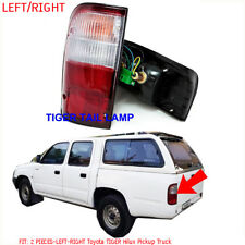 Rear Tail Lights Lamp For '98 99 00 Toyota Hilux Tiger LN145 147 Pickup Pair R/L