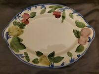 "Franciscan ORCHARD GLADE 14-1/4"" Oval Serving Platter Johnson Brothers England"