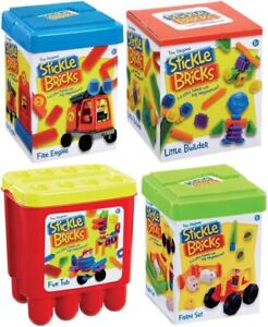 Stickle Brick Sets - 4 different sets to choose from!