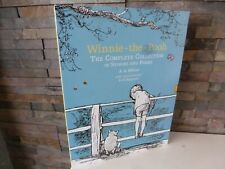 WINNIE THE POOH - THE COMPLETE COLLECTION of STORIES and POEMS - HARDBACK BOOK.
