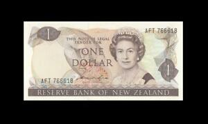 "1981-85 NEW ZEALAND 1 POUND QEII ""Sig. Hardie"" (( GEM UNC ))"