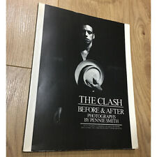 Pennie Smith THE CLASH BEFORE & AFTER Joe Strummer SIGNED