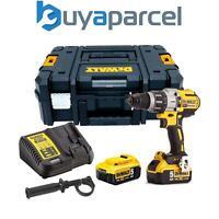 Dewalt DCD996P2 18v XR 3 Speed Brushless Combi Hammer - 2 x 5.0ah Batteries