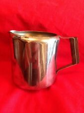 Vintage Stainless Steel Creamer With Wooden Handle c.1960-1980