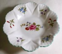 "Shelley Rose And Red Daisy 4 3/4"" Finger Bowl"