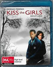 Kiss The Girls Blu Ray New(Morgan Freeman,Ashley Judd) Region B Free Post