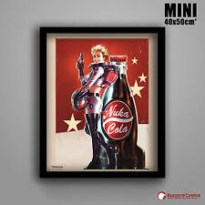Fallout 4 Nuka Cola Mini Poster Framed MP2010