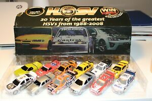 HSV 20 Years of the greatest HSVs from 1988-2008 Holden car collection