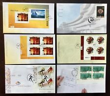 New listing Lot of 6 First Day of Issue Canada Post Art Sports Teaching Fdc '01 - '11