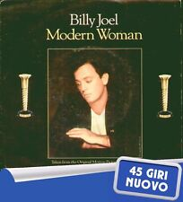 """BILLY JOEL""""MODERN WOMAN-SLEEPING WITH THE TELEVISION ON""""45 GIRI NUOVO 1986 EPIC"""