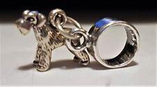 Ciondoli di lusso perla in argento sterling