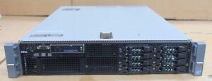"Dell PowerEdge R710 2x Xeon Quad Core E5530 2.40GHz 8 x 2.5"" 2x 870W 2U Server"