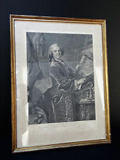 Engraving Jean Baptiste Mass per Louis Chefs in 1734 Engraved J G Wille C321