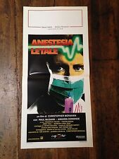 Anestesia Letale locandina poster Paper Mask Paul McGann Tom Wilkinson Doctor