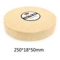 "10"" Fiber Polishing Buffing Wheel Grinding Abrasive Tool for Wood 250x18x50mm 5P"