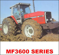 MASSEY FERGUSON TRACTORS SHOP SERVICE MANUAL MF3660 MF3670 MF3680 MF3690 3600 CD